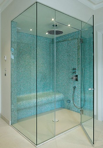 Call Glass Masters for top quality custom cut frameless glass shower doors in Folsom, CA