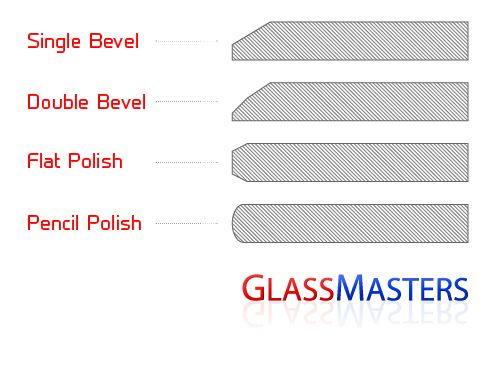 Call Glass Masters for Custom Cut Glass Tabletops with Specialty Edgework in Folsom, CA