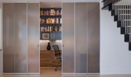 Call Glass Masters for Custom Frosted and Etched Glass Doors for your Home in Folsom, CA